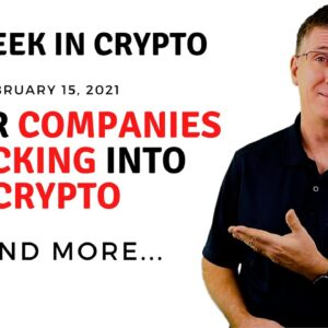 🔴 Major Companies Flocking Into Crypto | This Week in Crypto - Feb 15, 2021