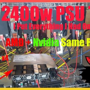 465MH 1300w Throwing it all At One Monster 2400w Server PSU