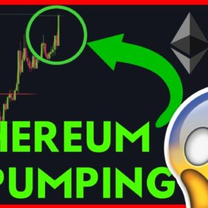 🔴 WATCH THIS CRAZY THING FOR BTC & ETH! LIVE PUMPING! 🔴