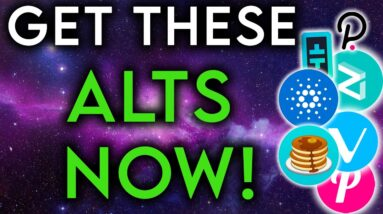 Alt Coins to Get Right Now (Perfect Time)
