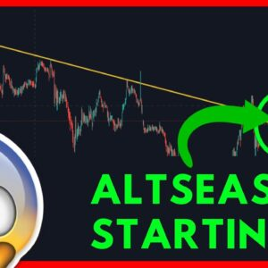 IS ALT SEASON STARTING RIGHT NOW? IMPORTANT ALTCOINS UPDATE [EXACT ALTCOINS]