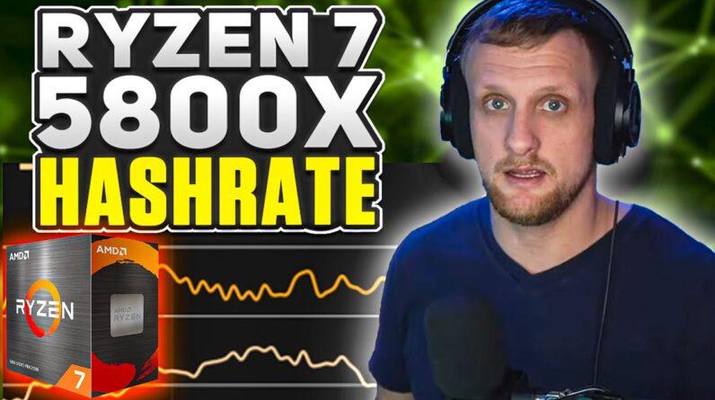 AMD Ryzen 7 5800X XMR Hashrate | Cinebench, CPUz, Timespy & Firestrike