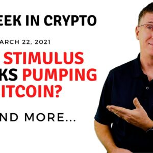 🔴 Are Stimulus Checks Pumping Bitcoin? | This Week in Crypto - Mar 22, 2021