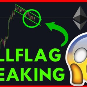 BITCOIN BREAKING OUT OF THE BULL FLAG! $62K BITCOIN SOON??