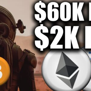 Bitcoin DESTROYS $60k, Ethereum to $2k NEXT!