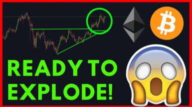 BITCOIN & ETHEREUM MAKING THEIRSELVES READY TO EXPLDOE