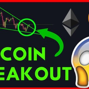 BITCOIN IS BREAKING OUT OF THE FALLING WEDGE! [Live trading]