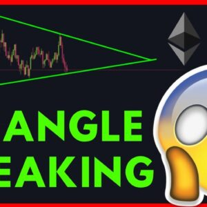 BITCOIN IS FORMING A SYMMETRICAL TRIANGLE!