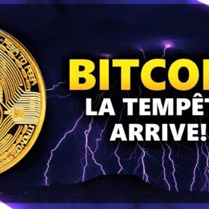 BITCOIN : LA TEMPÊTE ARRIVE SUR LES CRYPTOS ! ⚡