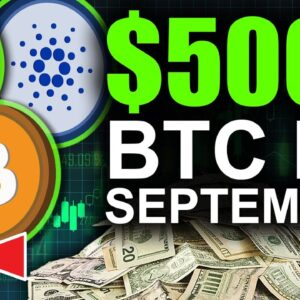 Bitcoin To $500k By September (Best Time To Buy)
