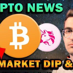 CRYPTO MARKET DIP!! Bad News, FUD, NFT Craze Continues