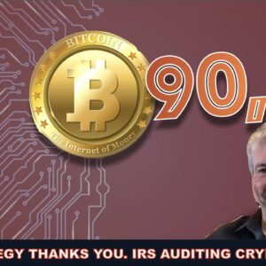 MARKET RECOVERS. WAS THIS DIP MANUFACTURED? MICROSTRATEGY SCOOPS UP CHEAP BTC & IRS AUDITS ARE HERE.