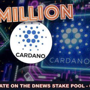 DNEWS CARDANO STAKE POOL UPDATE - 63M + KIVA.