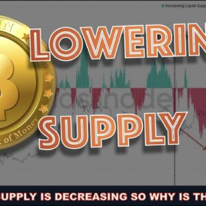 BITCOIN SUPPLY IS BEING LOCKED UP BUT THE PRICE KEEPS GOING DOWN? PEOPLE BUYING CRYPTO HAVE NO CLUE.