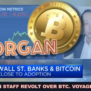 JP MORGAN FACING BACKLASH OVER NOT INVESTING IN BITCOIN FROM ITS OWN STAFF! VOYAGER HIRES UBER TEAM