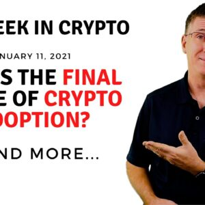 🔴 Is This The Final Stage of Crypto Adoption? | This Week in Crypto - Jan 11, 2021