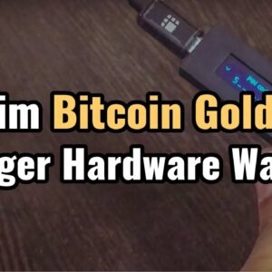 How to Claim Bitcoin Gold on Ledger Hardware Wallet [Tutorial]