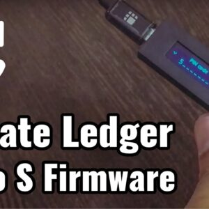 How to update Bitcoin Hardware Wallet Ledger Nano S Firmware