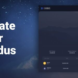 How to Update Exodus Wallet