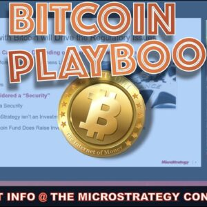 THE BITCOIN PLAYBOOK TOOK 6 MONTHS TO PLAN & EXECUTE. MICROSTRATEGY GIVES CORPORATIONS EVERYTHING.