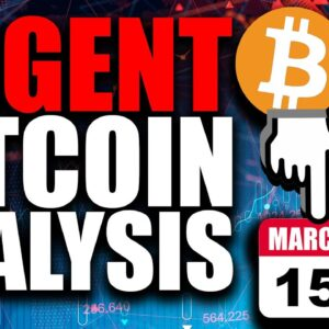 MOST URGENT Bitcoin Price Analysis (Watch BEFORE Monday March 15th)