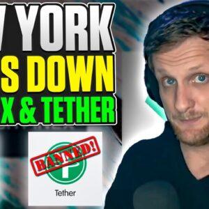 New York Shuts Down Bitfinex & Tether