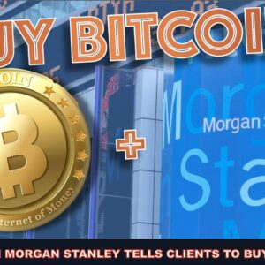 BREAKING: MORGAN STANLY BECOMES FIRST BIG U.S. BANK TO OFFER BITCOIN TO CLIENTS. NEW GRAYSCALE LIST
