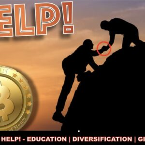 PULLING PEOPLE INTO THE BITCOIN & CRYPTO LIFE RAFT + DIVERSIFY & FINALLY GIVING BACK.