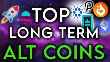 Top Alt Coins for Long Term Growth - Best Picks