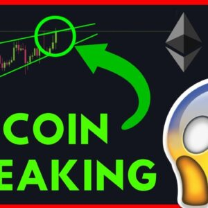 TRADING THE RISING WEDGE BREAKOUT! [Bitcoin and ethereum]