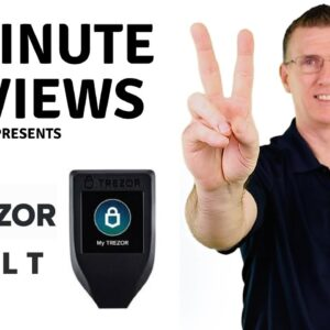 TREZOR Model T Review in 2 minutes (2021 updated)