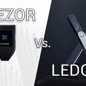 Trezor vs Ledger (Trezor Model T, Ledger Nano S Hardware Wallet Review)