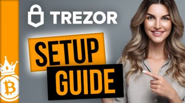 Trezor One Wallet Setup: How to use the Tezor Wallet safely, how to send and receive Bitcoin