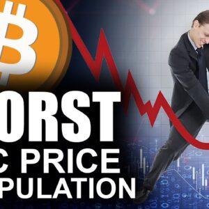 Worst Bitcoin Price Manipulation (Bitcoin Will Dump On These Dates)