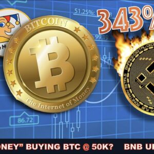 """WHY """"SMART-MONEY"""" IS BUYING BITCOIN @ 50K AND HOW BINANCE COIN (BNB) ROCKETED TO NEAR $200 (UTILITY)"""