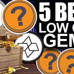 5 BEST Underrated Low Cap Crypto Gems
