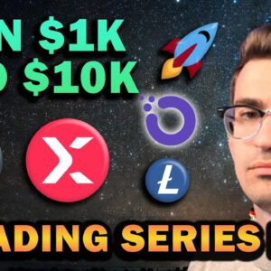 Altcoins I'm Buying! $1k to $10k Trading Series Ep 4 🚀