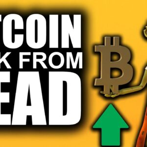 Bitcoin BACK from the DEAD (MOST Bullish Outlook 2021)