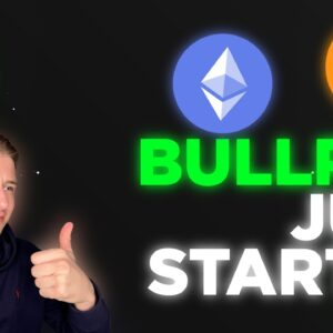BITCOIN Bull Run Just Getting Started.... Don't sell here!!!