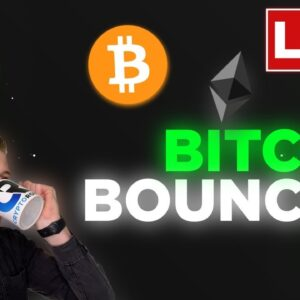 BITCOIN IS BOUNCING! ALTS EXPLODING!! WE ARE JUST STARTING!