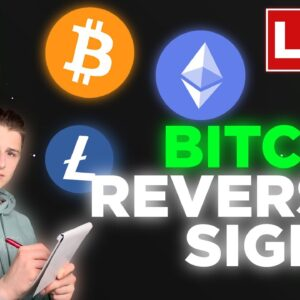 BITCOIN IS SHOWING A REVERSAL SIGNAL RIGHT NOW!!! LONGS ARE ACTIVE