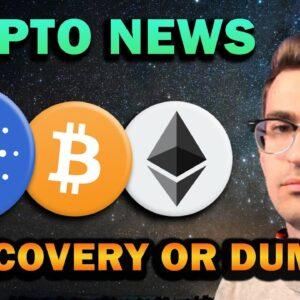 CRYPTO NEWS - Market Correction, Bullish Altcoins, Huge Events Coming