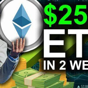 Ethereum WILL HIT $2500 in 2 Weeks (Top Expert Prediction)