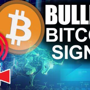 Most Bullish Bitcoin Signal in 4 Months (Amazing Bitcoin Price Metric)