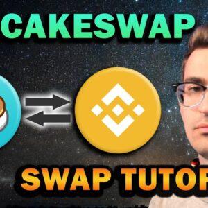 PancakeSwap Tutorial - Fees Under 50 Cents!! Binance Smart Chain