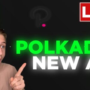 Polkadot (DOT) Ready to Explode! This will make you rich!!
