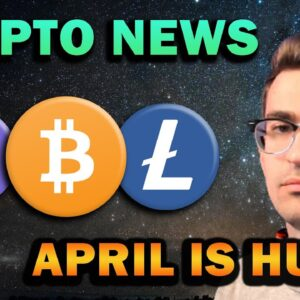 This is Huge for Bitcoin!! Crypto Ready to Surge in April