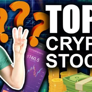TOP 3 Crypto Stocks (BEST Wall Streets Bets)