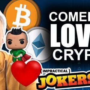 TV's TOP Comedian Joe Gatto LOVES Bitcoin, Ethereum, & NFTs