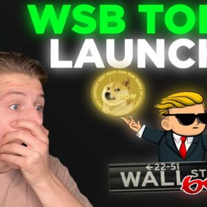 Why I'm selling my DOGE to buy the new Wall Street Bets Token...